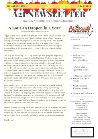 Newsletter Vol 2 No 3